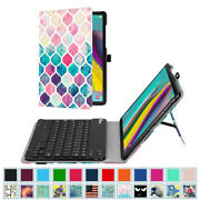 For Samsung Galaxy Tab A 10.1 10.5 / Tab S5e S4 10.5 Keyboard Case Stand Cover