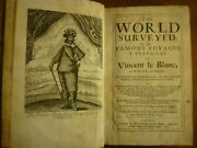 1660 Vincent Le Blanc The World Surveyed Travels Africa Middle East India Burma