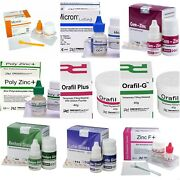Prevest / D-tech Permanent Tooth White Filling Cement Choose From List Dhl Ship