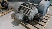 125 Hp Us Electric Motor 1800 Rpm 444t Frame Tefc 460 V 1.15 S.f.