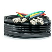 Elite Core Supercat6 Quad Shielded 250and039 Cable Snake Terminated Tactical Ethernet