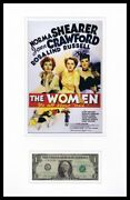 Clare Boothe Luce Signed Framed 1 Bill And The Women Poster Display