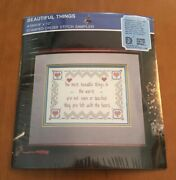 Designs For The Needle Stamped Cross Stitch Sampler Beautiful Things 3905