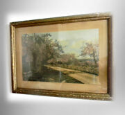 Wallace Nutting Antique Large Hand Colored Print - A Patriarch In Bloom