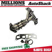 Exhaust Manifold Catalytic Converter W/ Gaskets For Nissan Altima Sentra 2.5l