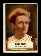 1952 Topps Look N See 87 Marie Curie Vgex X1704156