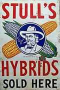 O Scale Stulls Seed Weathered Building Sign Decal 3x2 More Sizes Avail Dd179