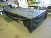 Misty Harbor 15and039-16and039 225 Cu / 17and039 2085 Ru Black Pontoon Cover 258 X 173 Boat