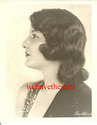 Vintage Barbara Stanwyck Beauty Profile 20s Publicity Portrait By Ben Strause