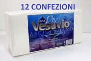 12x Towels Of Paper To Dry Folder Uses And Throw Vesuvio 13 13/16x26 3/8in 720