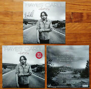 Hayes Carll What It Is Ltd Ed Signed Record Sleeve +sealed 180g Vinyl Lp Album