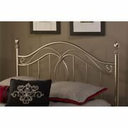 Hillsdale Milano Full Queen Poster Headboard In Antique Pewter