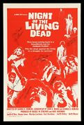 Night Of The Living Dead ✯ Cinemasterpieces Signed Horror Zombie Movie Poster