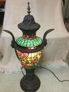 Stained Glass Lamp By Chicago Mosaic Company