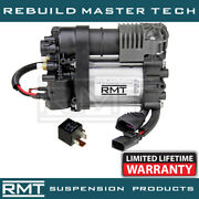 Porsche Cayenne 958 2011-2017 Oem New Air Suspension Compressor And Relay Kit