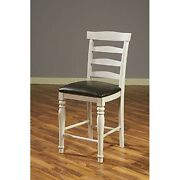Sunny Designs 1432fc-24c Bourbon County Ladderback Barstool French Country New
