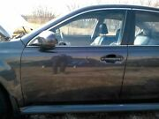 Driver Front Door Electric Sedan Gray Paint F3t Fits 10-14 Legacy 34231