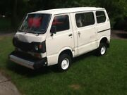 Subaru 600 Micro Van Retrofitted By Jet Corp Project Or Use As Decor / Prop