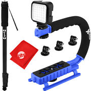Opteka X-grip Professional Camera / Camcorder Action Stabilizing Handle With Acc