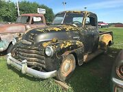 1948 Chevy 3100 3 Window Pickup Truck 5.3l 4l60e Yellow Jacket Potential Build