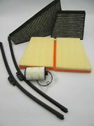 Bentley Continental Gt Gtc Flying Spur Oil Air Cabin Filters Wiper Blades 177