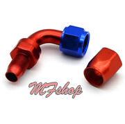An6 -6an Universal 90 Degree Swivel Hose End Fitting/adaptor Red
