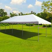 Commercial Canopy Tent Party Gazebo 20x40 White Pvc Weekender West Coast Frame