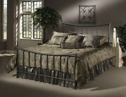Hillsdale 1333bkr Edgewood Bed Set - King - With Rails New