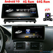 Android 10 Car Gps Radio 8core 4+64gb Rom For Benz C Class W204 C200 C260 08-10