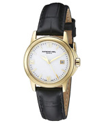 Raymond Weil 5376-p-00307 Womenand039s Traditional Gold Plated Swiss Watch Preowned