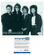 Mike Peters Autographed Signed 8x10 Photo The Alarm Acoa