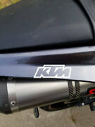 Ktm Logo Decal Any Size Any Colors Car Truck Laptop
