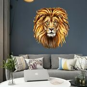 3d Valorous Lion O76 Animal Wallpaper Mural Poster Wall Stickers Decal Ella