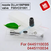 0445110034 0445110035 0986435012 Diesel Injector Nozzle Valve Parts For Bosch Mb