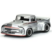 Pro-line 56 Ford F100 Street Truck Clear Body For Traxxas Slash 2wd 4x4 And Rally