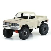 Pro-line 1978 Chevy K-10 Clear Body For 12.3 Wb Scale Rock Crawler Trail Trucks