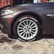 Tire Lettering - Goodyear - 1 For 14151617181920 Tİre. X8 Decal