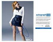 Bella Thorne Autographed Signed 11x14 Photo Sexy Hot Legs Acoa Psa