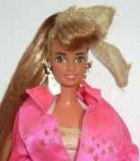 Super Rare Vintage 1990 Hollywood Hair Barbie Teresa Doll Fashion And Stand.andnbsp