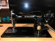 1932 Singer Electric Sewing Machine Model 15-91