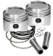 S And S Cycle Forged Piston Sets Forged Piston Set 92-2027