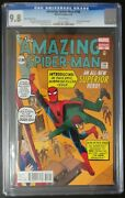 Amazing Spider-man 700 Marvel Comics Cgc 9.8 White Pages Ditko Variant Cover