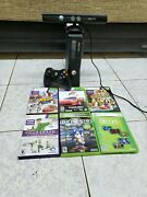 Kinect Sensor Remote And 6 Xbox360s Games Xbox Not Incuded