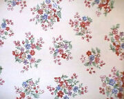 Longaberger Rare Retired Sweetheart Floral Bouquet Fabric-half Yard-new-hurry Up