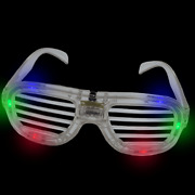 Lumistick Led Flashing 80s Stylish Trendy Rave For Party Favor Sunglasses Lot