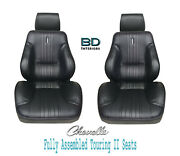 1970 Chevelle And El Camino Touring Ii Front Bucket Seats Assembled