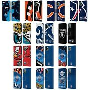 Official Nfl 2019 London Games Leather Book Wallet Case For Apple Iphone Phones