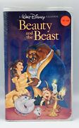 Disneyandrsquos Beauty And The Beast Black Diamond Vhs Unopened Mint 1325 Collectible