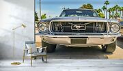 3d Ford Mustang O719 Transport Wallpaper Mural Self-adhesive Removable Amy