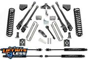 Fabtech K20132m 6 4 Link Lift Kit W/stealth Shocks For 2005-2007 Ford F-350